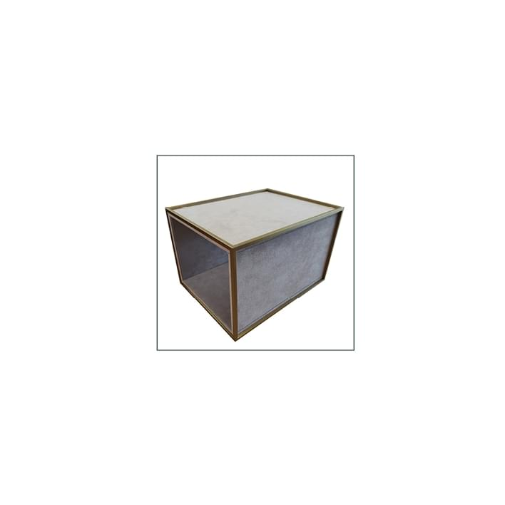 Exhibidores para joyería - base geneve rivestita 4 lati