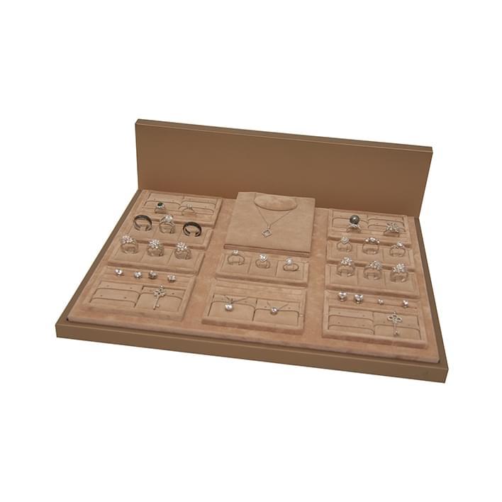 Exhibidores para joyería - Base Multivetrina 7