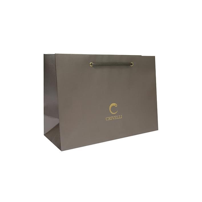 Bolsas de papel de lujo - borsa crivelli stampa litografica