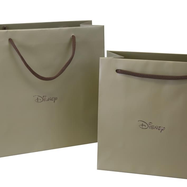 Bolsas de papel de lujo - disney