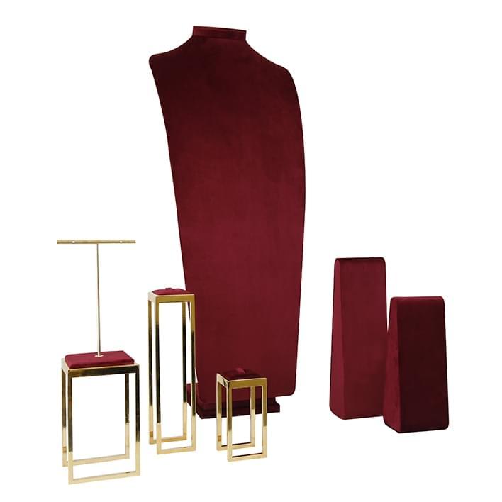 Expositores para joyería  - geneve-rosso