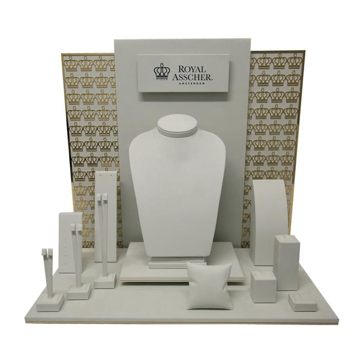 Exhibidores para joyería - royal asschel x sito