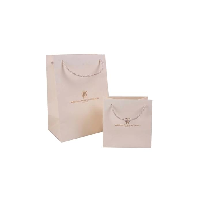 Bolsas de papel de lujo - textured lito