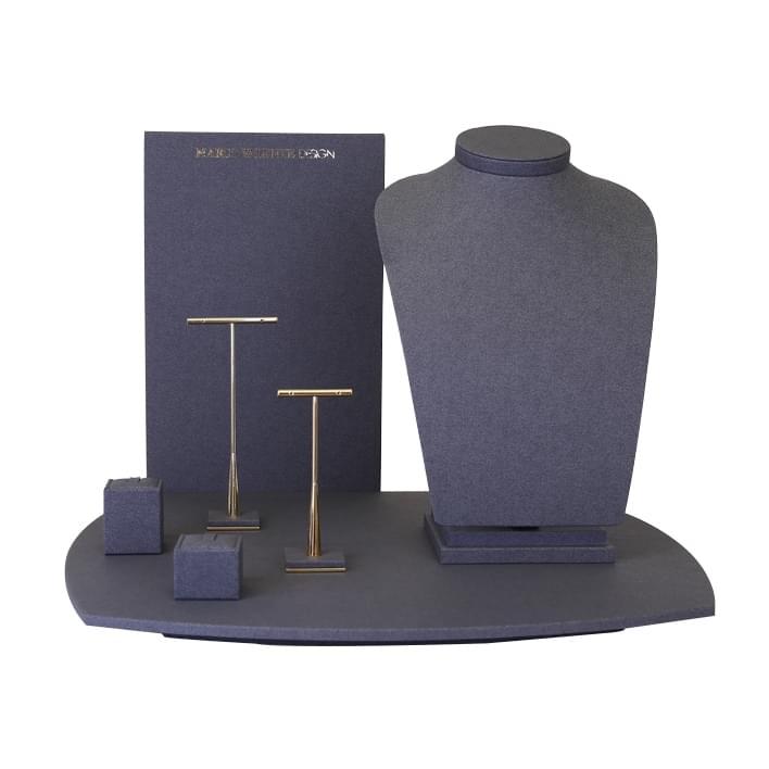 Exhibidores para joyería - vetrina MARCO VALENTE  base newyork